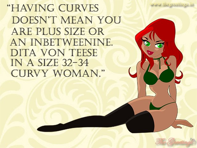 curvy beautiful girl quotes