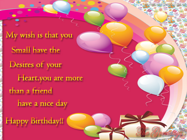 happy birthday wishes for best friends