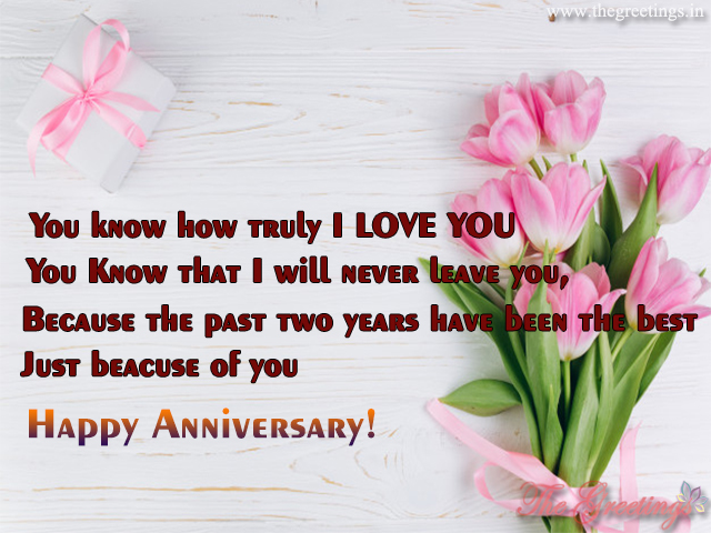 anniversary to both of you