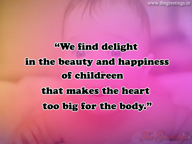 cute born baby quotes