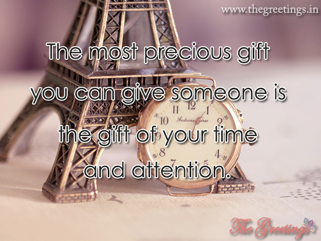 Beautiful Gift watch quotes