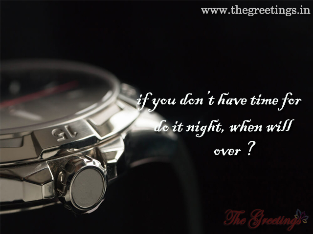 Time Watch Quote Life
