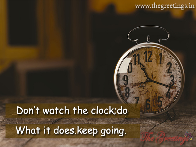 time watch the clock quotes