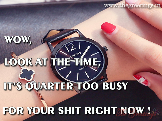 look at the time quotes