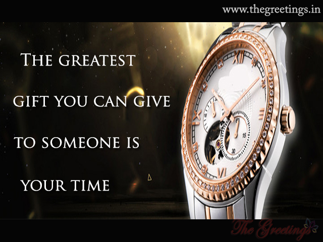 quotes saving gift watch