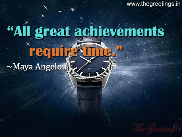 quote about timepieces