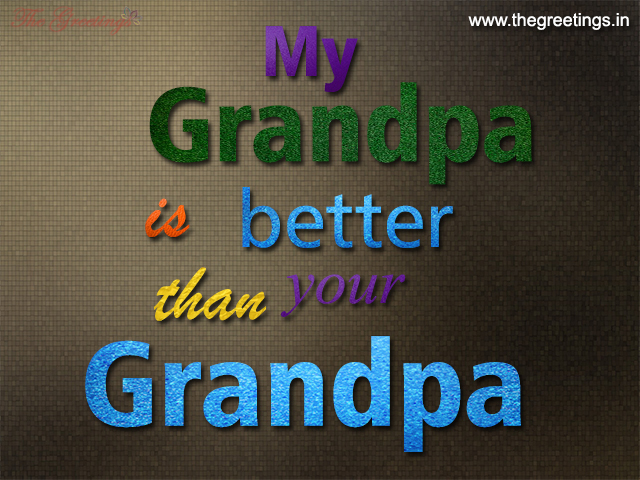 Grandpa sayings