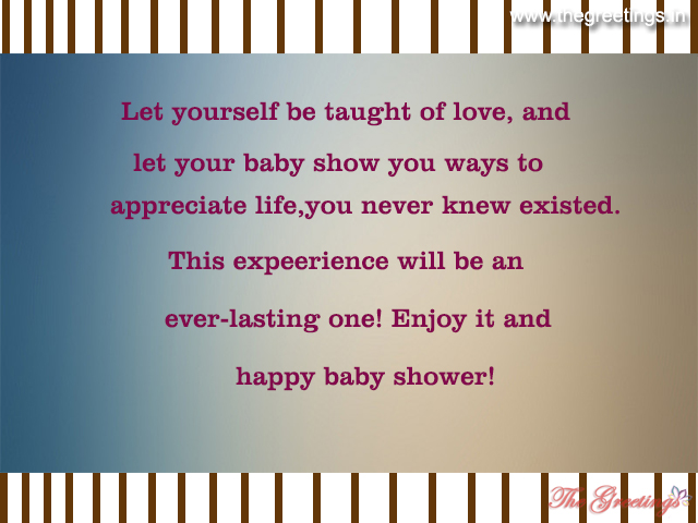 beautiful baby shower quotes