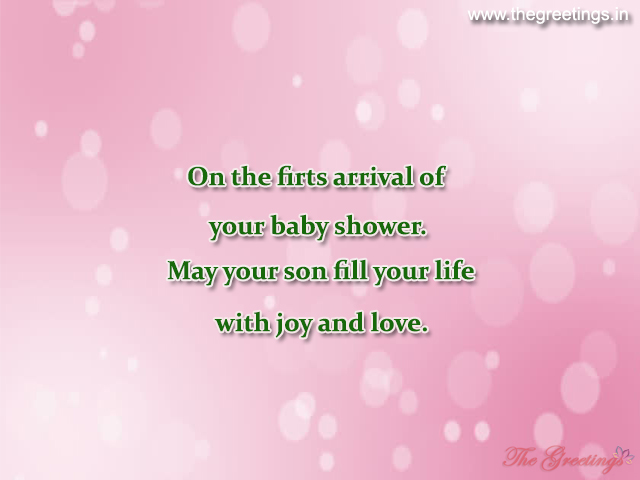 baby shower sayings
