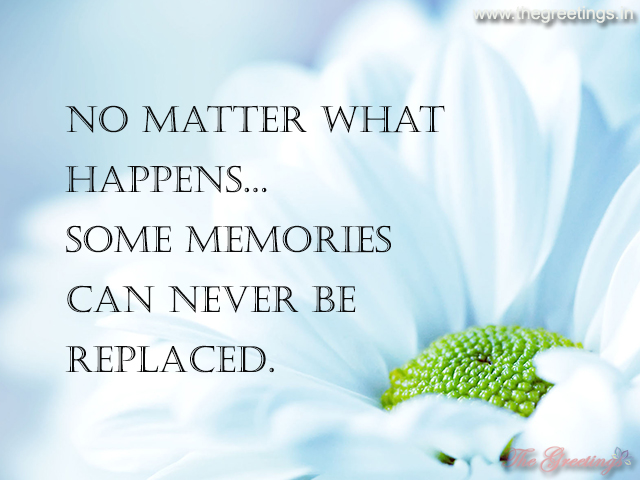life quotes about memory