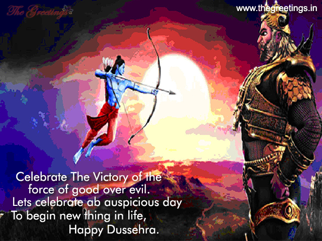 Dussehra Vijaya Dashami Wishes