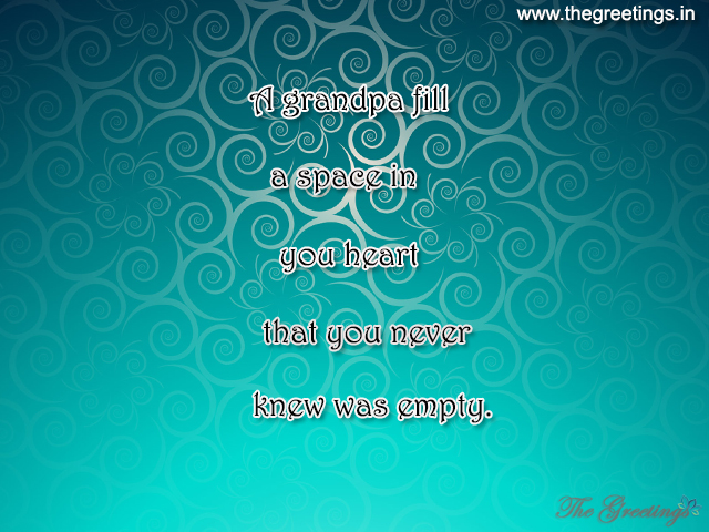 best quotes for grandfather