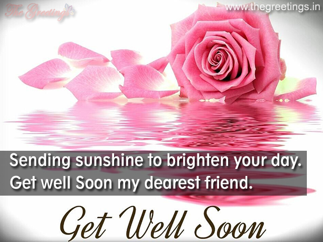 Get well soon images for family
