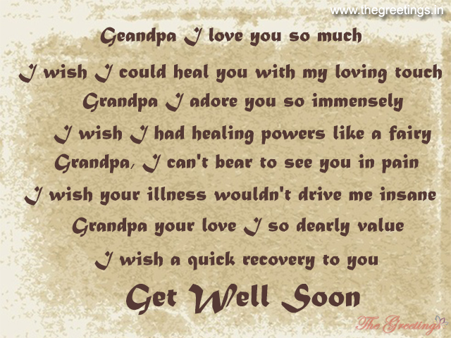 Get well soon quotes for grandpa
