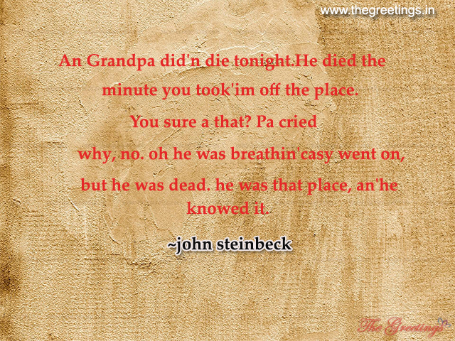 sad quotes for grandpa