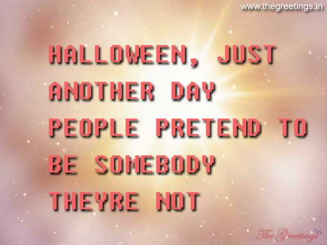 Halloween Day quotes in English