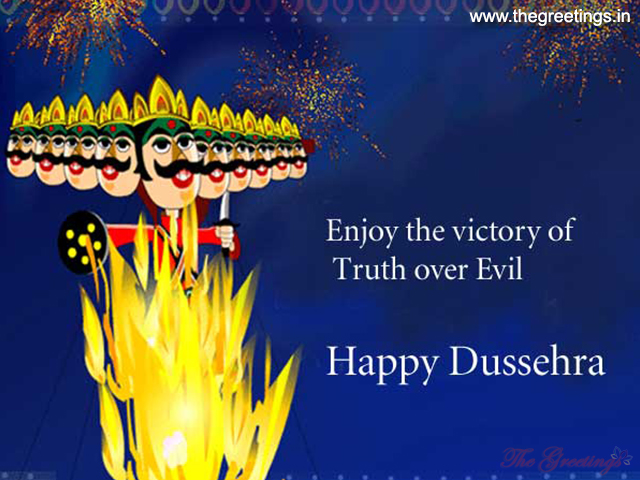 happy dusshera sms