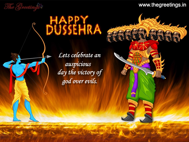 happy dusshera wallpapers 2018