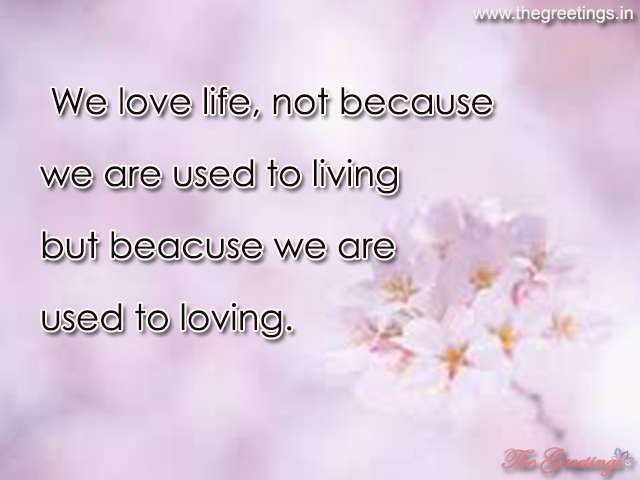 life sayings about love