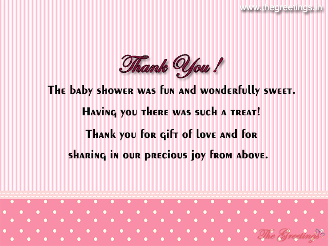 unique baby shower messages
