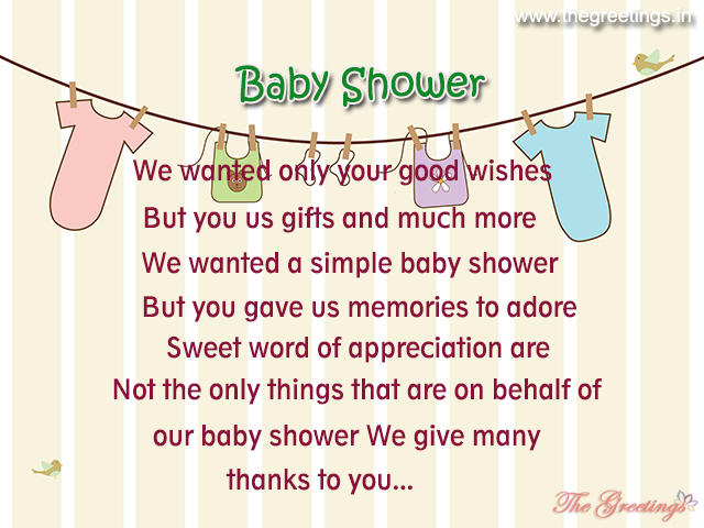 unique baby shower quotes