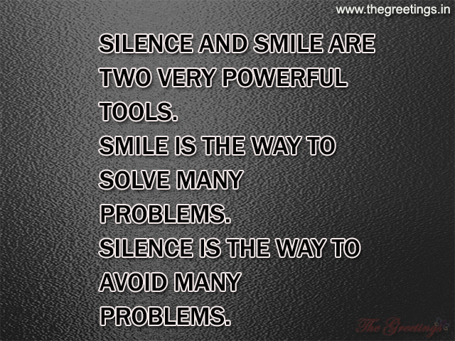 life quotes about silence