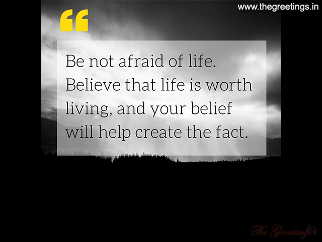 life quotes for worth living life