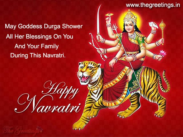Navratri greetings