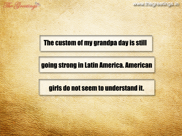 quotes and saying about grandfather