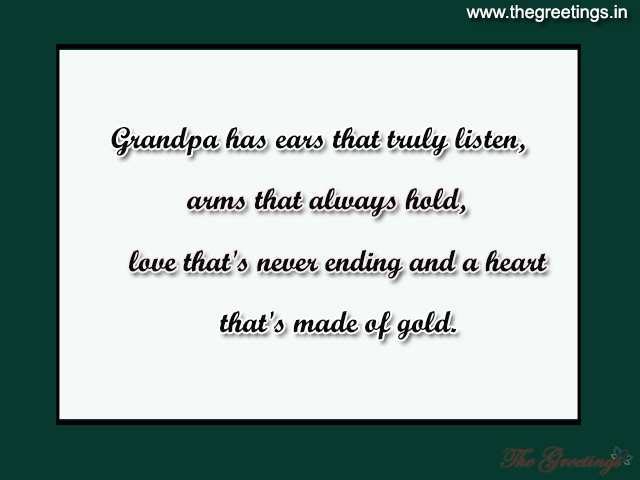 quotes for grandpa from grand son