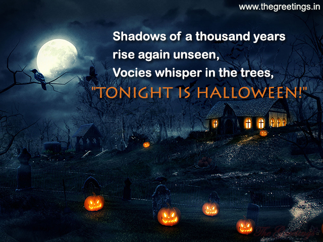 Shadow of Halloween quotes