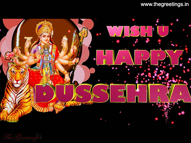 Vijayadashami 2018 english Wishes