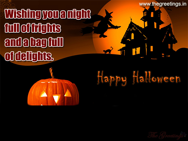 Wishing you a Happy Halloween images
