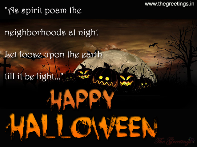 happy halloween wishes sms