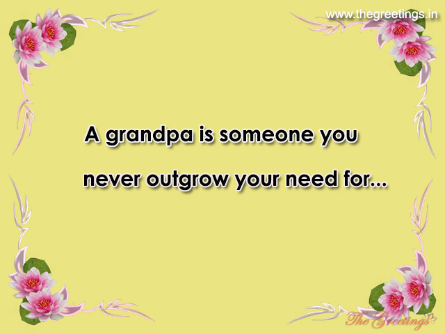 quotes and sayings about grandpa