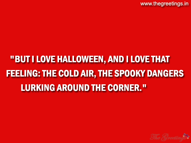 scary halloween quotes images