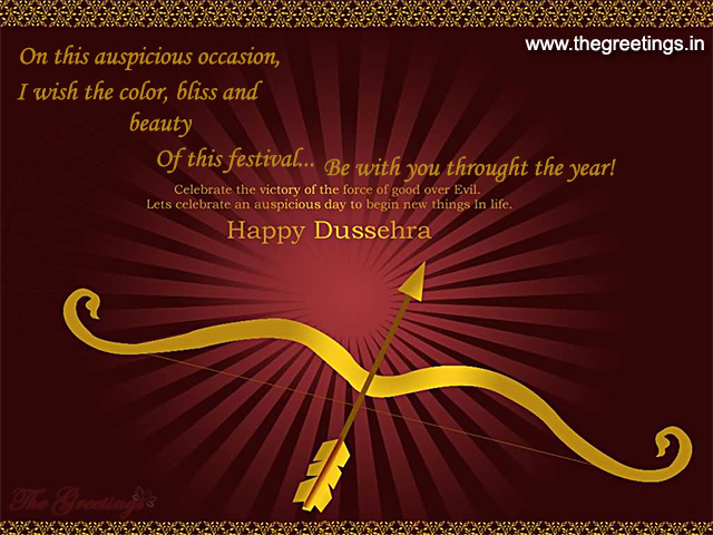 wish you all Happy Dussehra