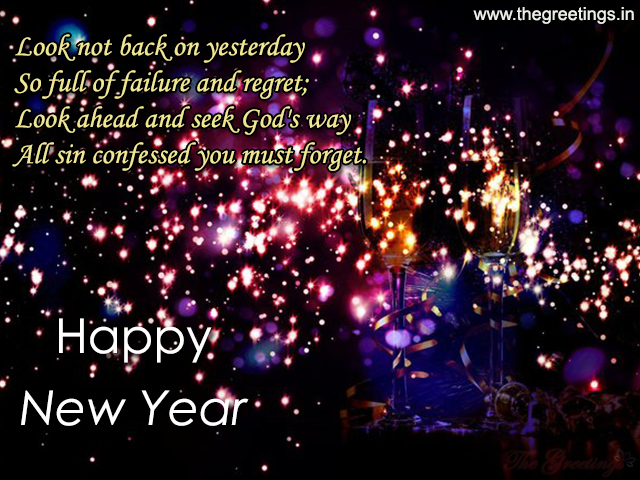 happy new year motivational card