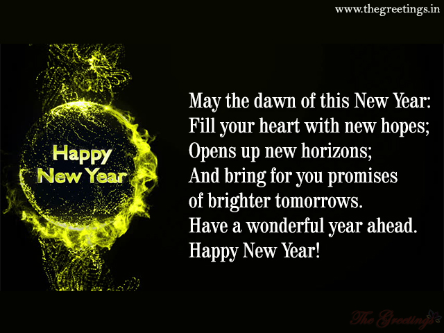 new year best wishes message
